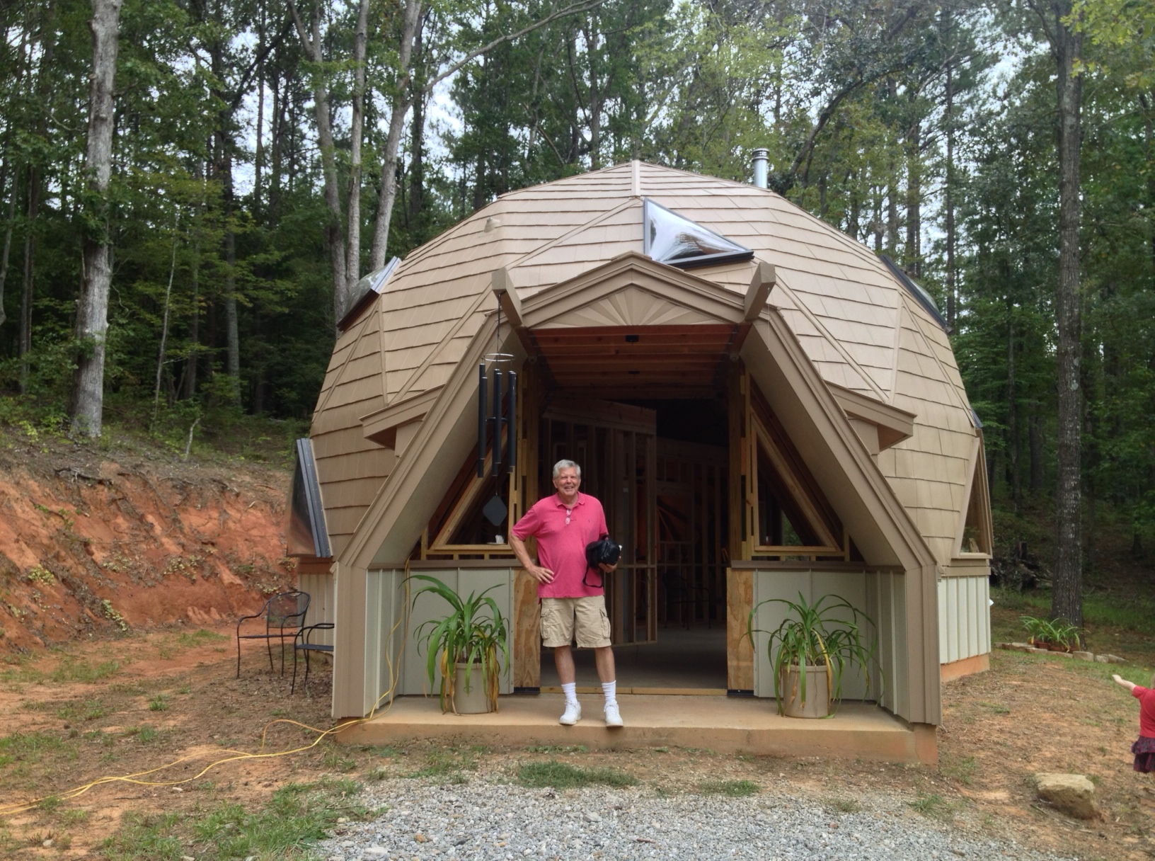 touring a tiny home and geodesic dome home tinydawghouse